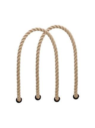 O bag natural dlouhá provazová držadla