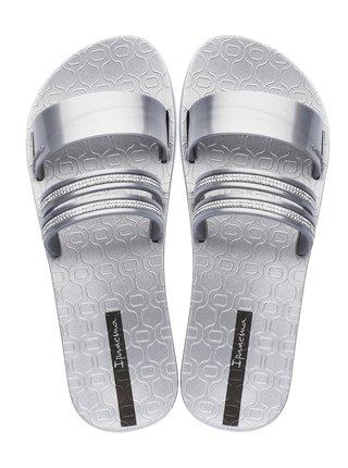 Ipanema strieborné šľapky New Glam Silver