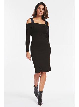 Guess čierne šaty Abito Costine