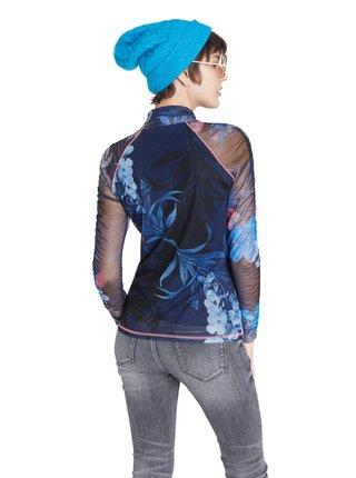 Desigual modré tričko TS Vanessa