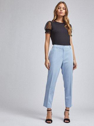 Světle modré zkrácené kalhoty Dorothy Perkins Petite