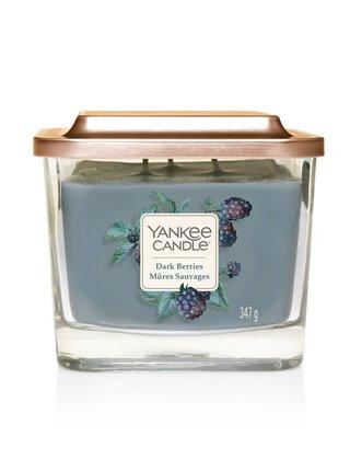 Vonná svíčka Yankee Candle Dark Berries (Elevation střední)