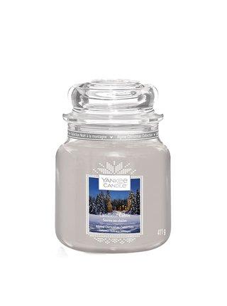 Yankee Candle vonná svíčka Candlelit Cabin Classic střední