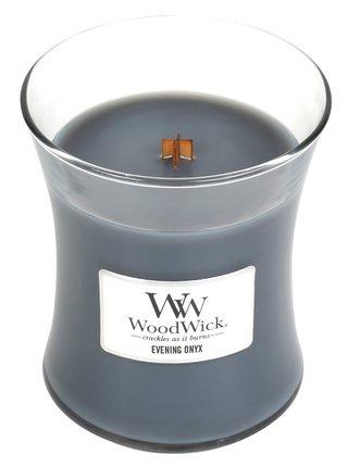 WoodWick vonná sviečka Evening Onyx stredná váza