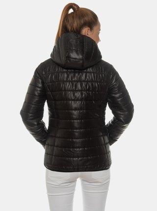 Černá dámská prošívaná bunda SAM 73 Sava