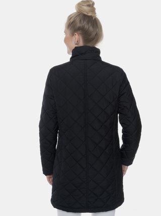 Černý dámský prošívaný kabát SAM 73 Enid
