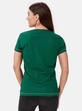 Zelené dámské tričko SAM 73 Cerina