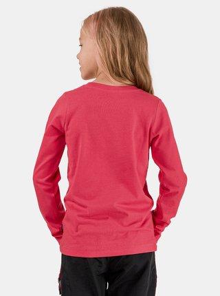 Ružové dievčenské tričko SAM 73