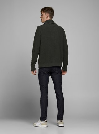 Khaki kardigan Jack & Jones Vince