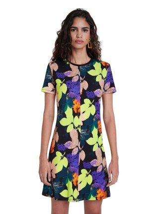 Desigual barevné šaty Vest Autumn