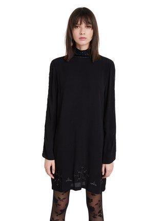 Desigual černé šaty Vest Viena