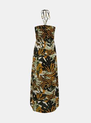 Hnedé vzorované šaty ONLY Libby