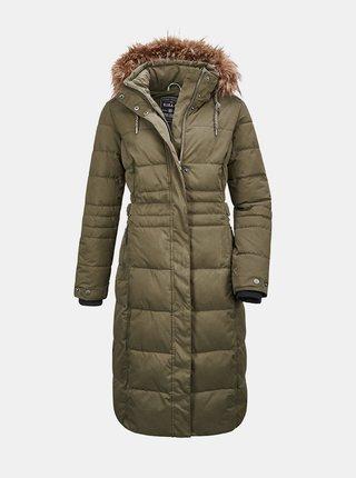 Kaki dámsky prešívaný kabát killtec