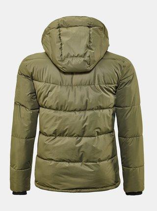 Kaki pánska zimná prešívaná bunda killtec