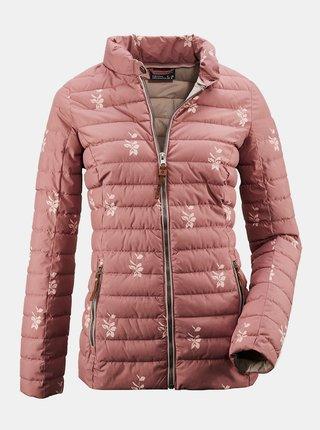 Ružová dámska prešívaná bunda killtec