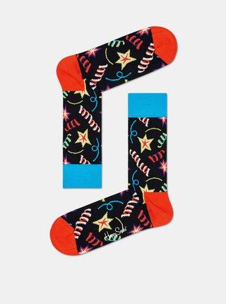 Sada tří párů ponožek v modré a růžové barvě Happy Socks Happy Birthday