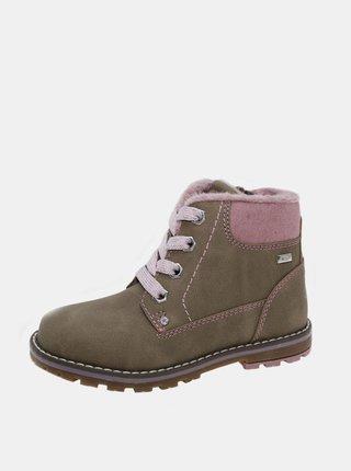 Béžové holčičí zimní boty Tom Tailor