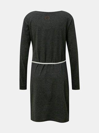 Šedé šaty s páskem Alife and Kickin