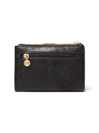Desigual čierne peňaženka Mone Alkalina Pia Mini