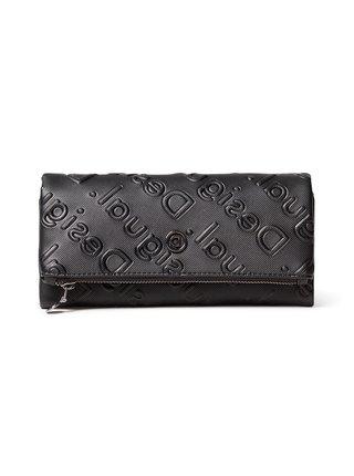 Desigual černá peněženka Mone Colorama Rocio