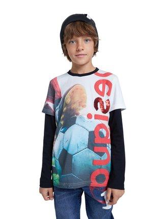 Desigual farebné chlapčenské tričko TS Enric