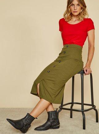 Červené dámske basic tričko ZOOT Baseline Nora
