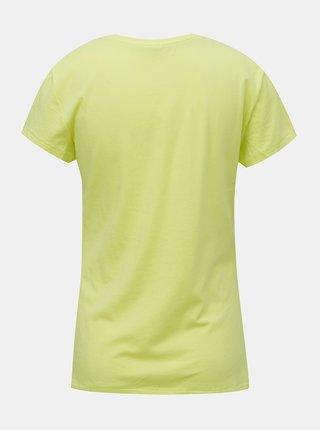 Žluté tričko ONLY Catty