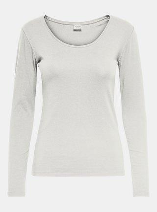 Bílé basic tričko Jacqueline de Yong Ava