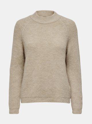 Béžový svetr ONLY Jade