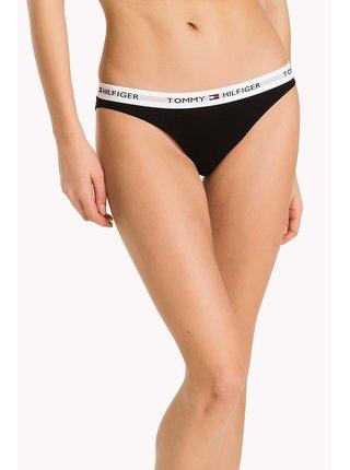 Tommy Hilfiger čierne nohavičky Bikini Iconic