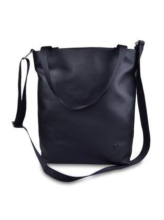 Xiss čierne kabelka Simply Black s popruhem