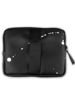 Xiss černá peněženka Splashed Black