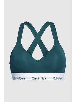 Calvin Klein petrolejové podprsenka Lift Bralette