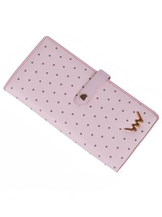 Vuch púdrovo ružová peňaženka Cora