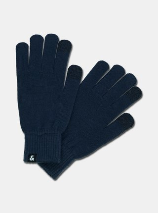 Tmavomodré rukavice Jack & Jones Barry