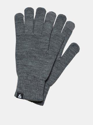 Šedé rukavice Jack & Jones Barry