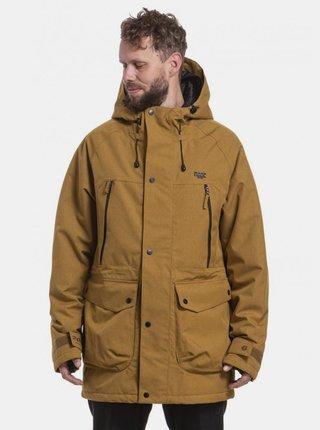 Hnedá pánska zimná bunda NUGGET Reinforcer