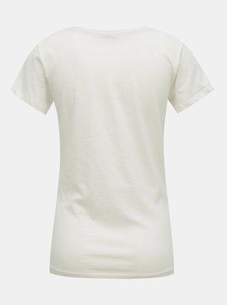 Biele tričko s potlačou Jacqueline de Yong Chicago