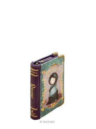 Santoro peňaženka Rapunzel v tvare knihy