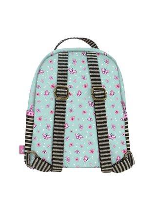 Santoro tyrkysový malý ruksak Gorjuss Sparkle&Bloom Cherry Blossom