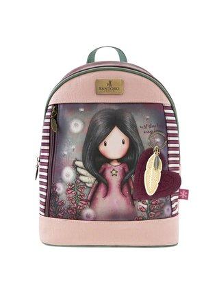 Santoro ružový ruksak Gorjuss Little Wings