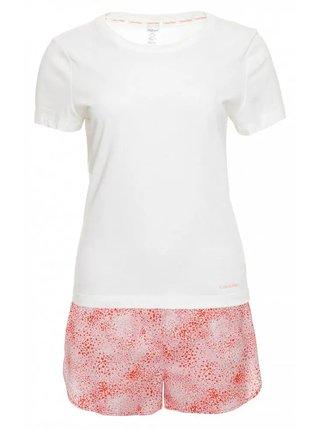 Calvin Klein farebné pyžamo S/S Short set