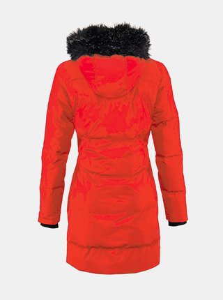 Červený dámský prošívaný kabát killtec