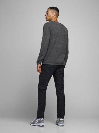 Tmavě šedý basic svetr Jack & Jones Ehill