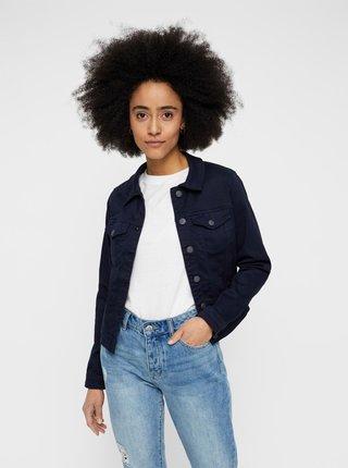 Tmavě modrá džínová bunda VERO MODA Hot