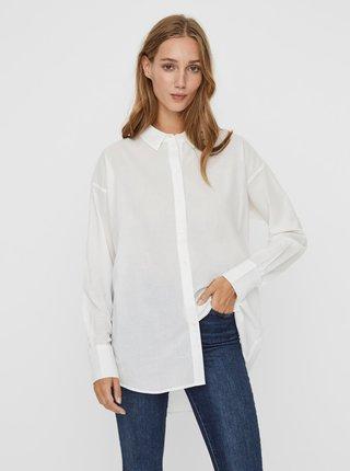 Biela voľná košeľa AWARE by VERO MODA India