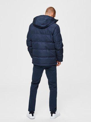 Tmavě modrá zimní bunda Selected Homme Josh