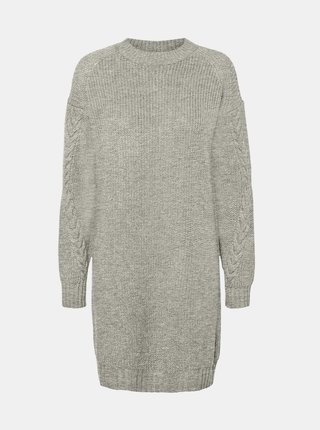 Šedé svetrové šaty Noisy May Jimma