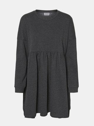 Černé mikinové šaty Noisy May Nelli