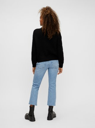 Černý svetr Pieces Rachel